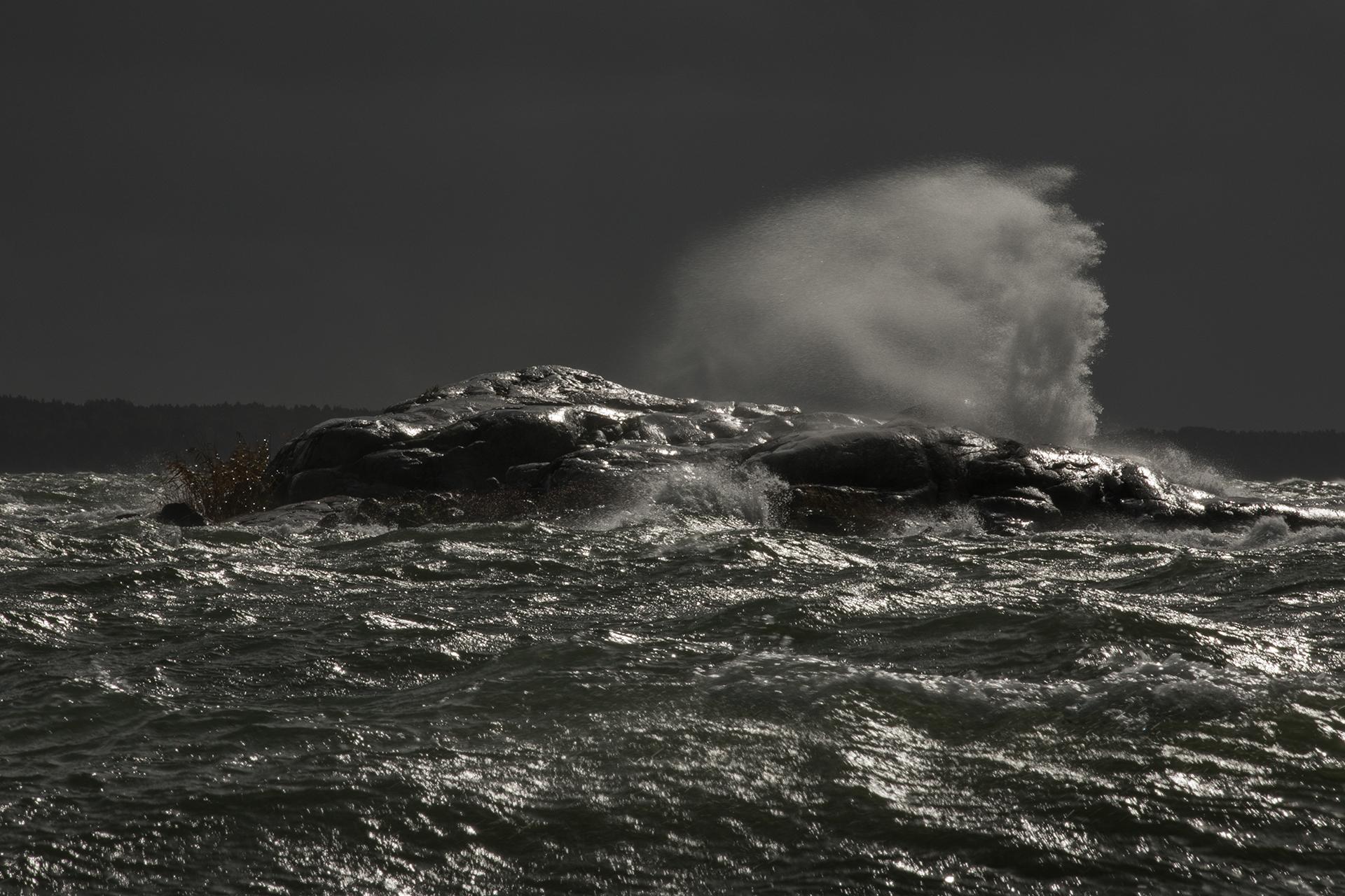 An autumn storm / Photo: A. Kuusela